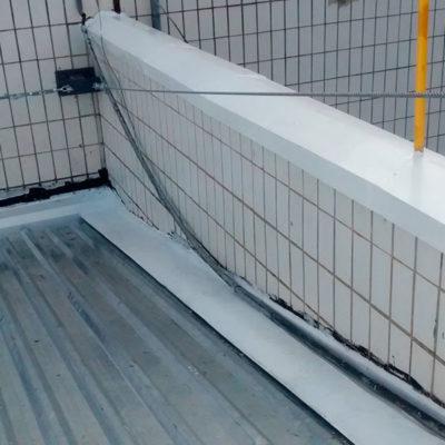 AVON - Impermeabilização de Calhas e Troca de Rufos - Depois